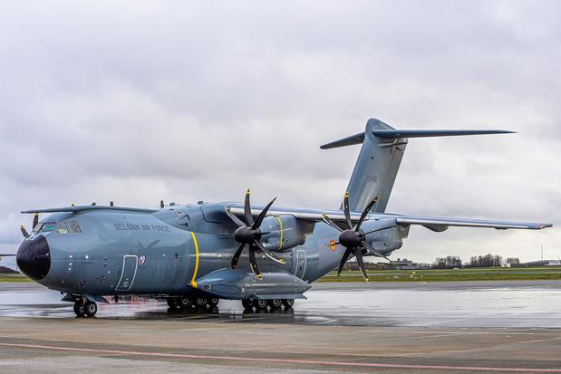 Afghanistan: voici les trois avions envoyés par la Belgique aujourd'hui