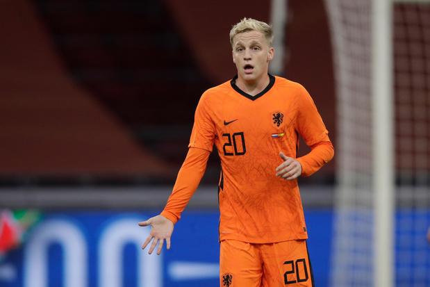 Van de Beek moet afhaken bij Oranje, Spanje haalt twee nieuwe spelers bij reservenlijst