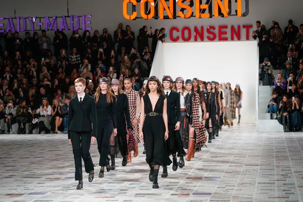 Modeshows post-corona: zo pakken Dior, Gucci en Burberry het aan