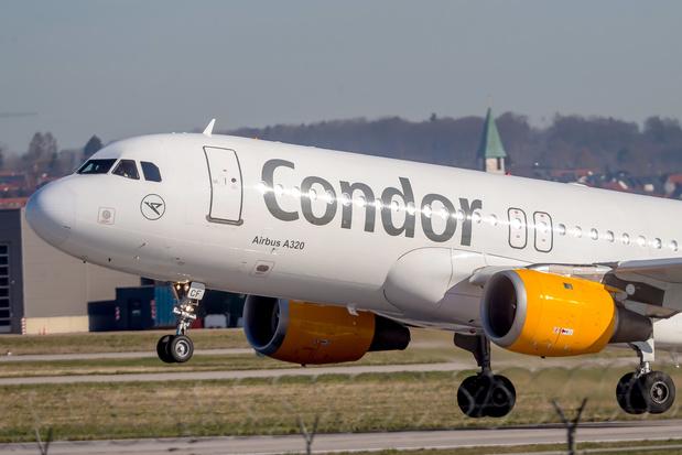 Duitse luchtvaartmaatschappij Condor krijgt 525 miljoen euro staatssteun