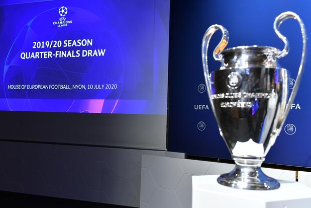 Ligue des Champions: l'Atalanta pour le PSG, vers un duel Bayern-Barça