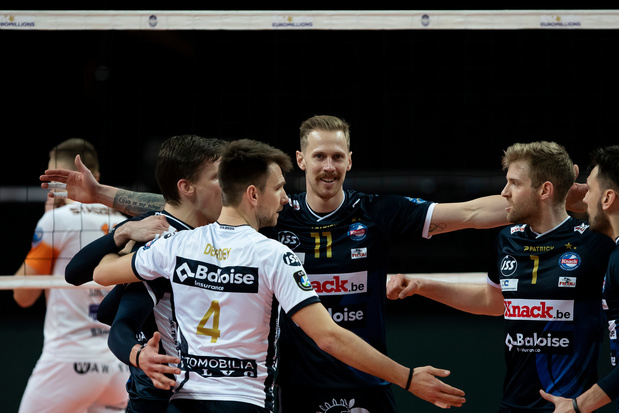 Knack Roeselare verovert vijfde volleybalbeker op een rij