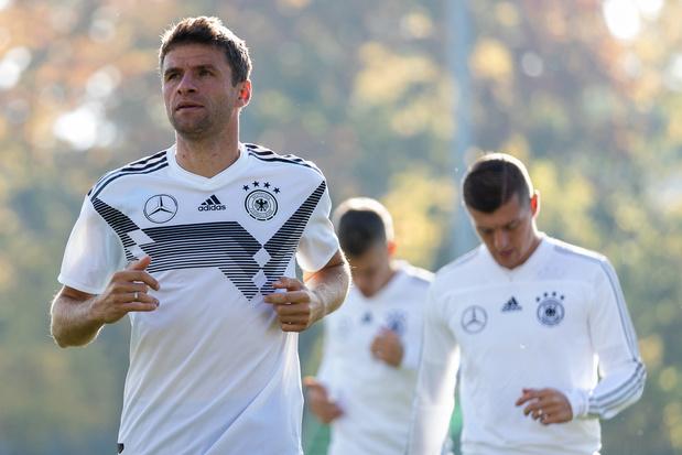 Duitse EK-selectie: opnieuw plaats voor Hummels en Müller
