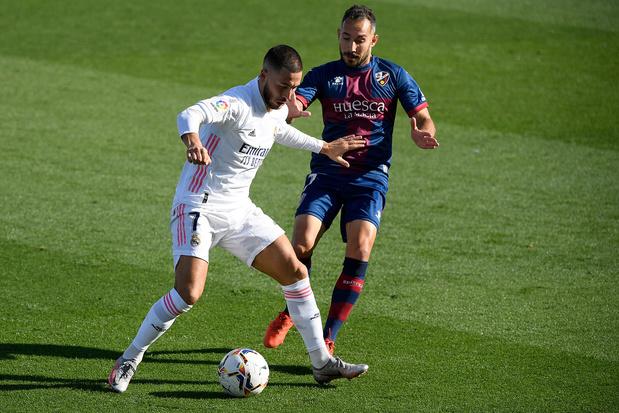 Buteur, Hazard ouvre son compteur cette saison et mène le Real Madrid à la victoire