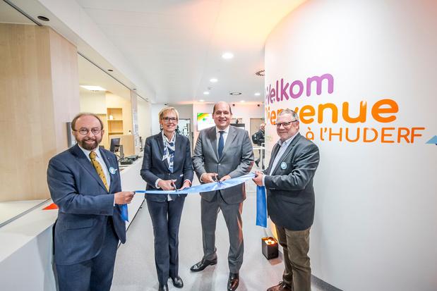 Inauguration d'un nouveau bâtiment à l'HUDERF