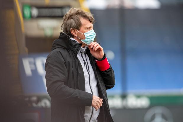 L'Antwerp se sépare officiellement de Frank Vercauteren