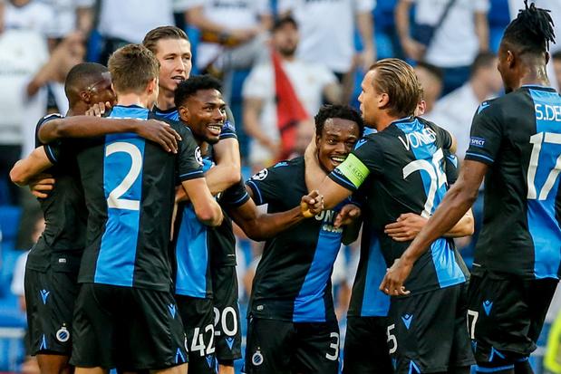 Après avoir mené 0-2 au Real Madrid, Bruges frôle l'exploit, le Real évite la catastrophe (vidéo)