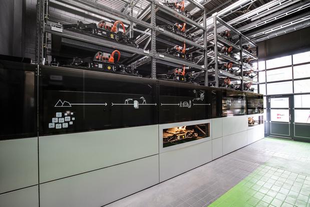 Audi neemt opslagplaats voor batterijen in gebruik in Berlijn