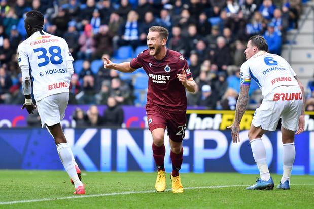 Club Brugge nipt voorbij Racing Genk, Cercle zet zegereeks voort tegen AA Gent