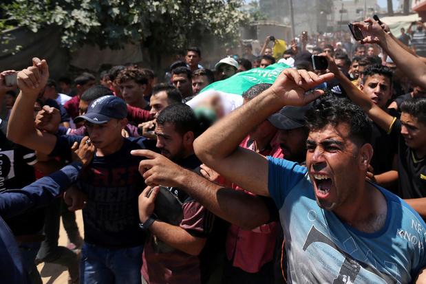 Tirs à la frontière de Gaza: un Palestinien tué, 3 soldats israéliens blessés