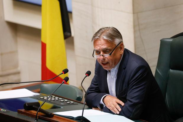 Dries Van Langenhove a participé à l'élection du président de la Chambre: Patrick Dewael s'explique