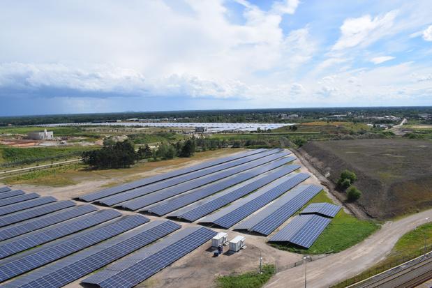 Le plus grand parc solaire du Benelux inauguré à Lommel