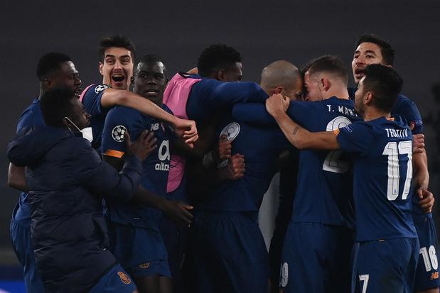 Ligue des Champions: le FC Porto élimine la Juventus et se hisse en quarts de finale