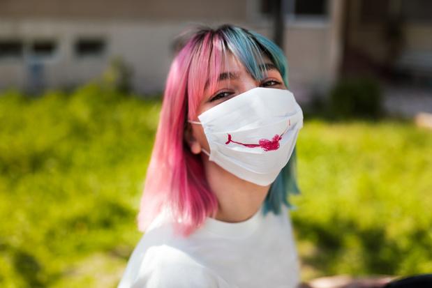 Mondmaskers brengen gezichtsherkenning in de war