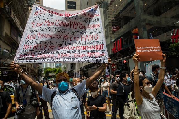 Hong Kong: la police annonce la première arrestation liée à la loi sur la sécurité