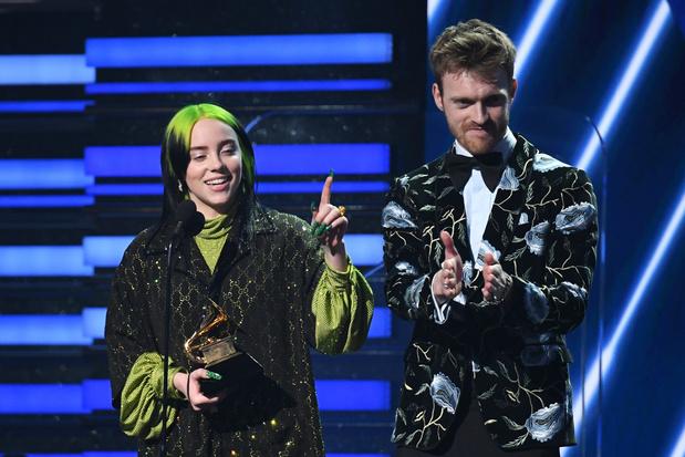 Grammy's 2020: Billie Eilish wint beste album, beste nieuwe artiest en beste nummer