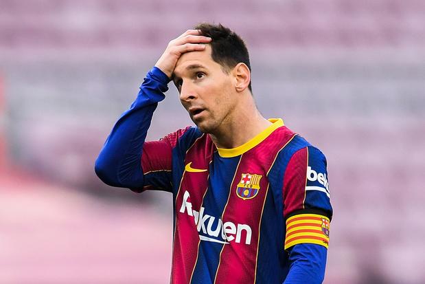 Bom bij Barcelona: Spaanse club laat Lionel Messi gaan om 'financiële redenen'
