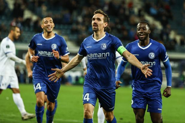 Conference League: KAA Gent ook eenvoudig voorbij Famagusta met 2-0