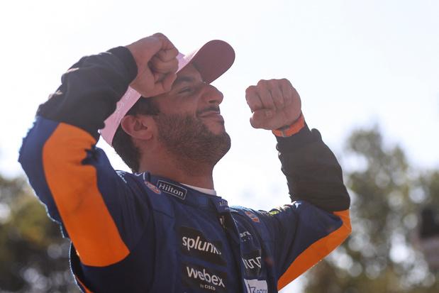 Daniel Ricciardo s'impose à Monza, Verstappen et Hamilton abandonnent après un accrochage