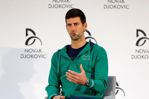 Ook Novak Djokovic test positief op coronavirus