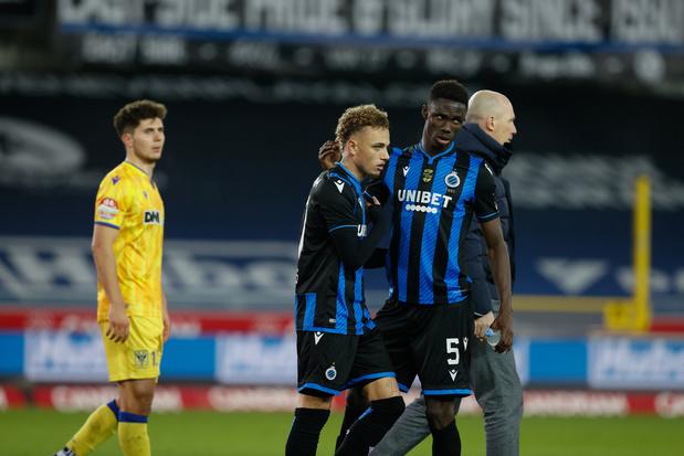 Bruges l'emporte sans briller contre Saint-Trond et reprend la tête du championnat
