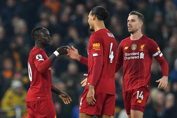 Liverpool et Origi terminent l'année par un succès