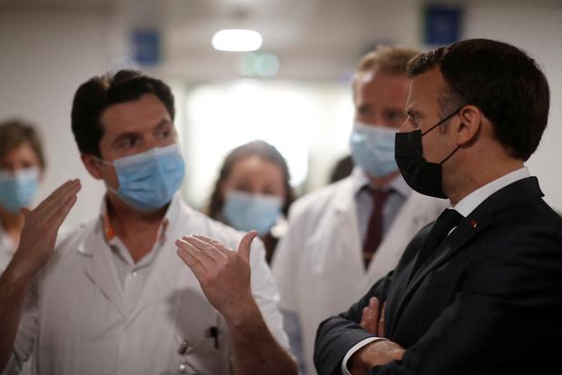 La France franchit la barre des 6.000 malades du Covid en réanimation