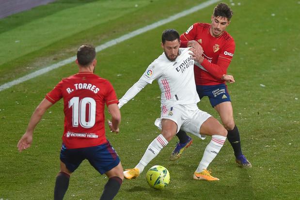 Partage pour Eden Hazard titulaire avec le Real, et Jason Denayer, buteur, face au Rennes de Doku