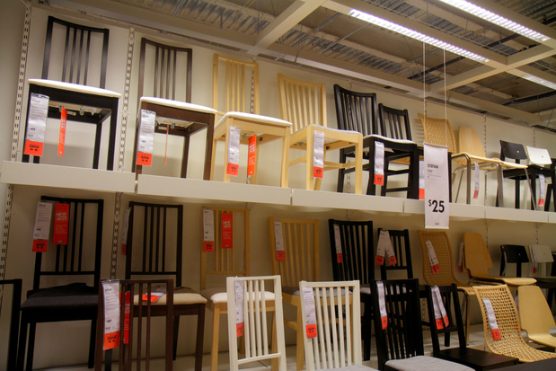 Onderzoek: Verschillende Ikea-stoelen gemaakt van hout uit bedreigde bossen