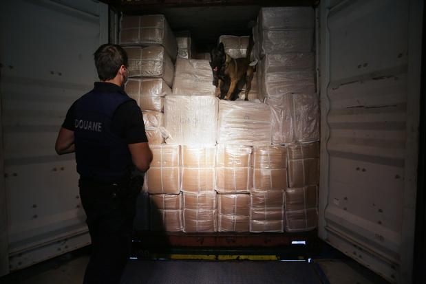 Plus de 27 tonnes de cocaïne interceptées dans le port d'Anvers