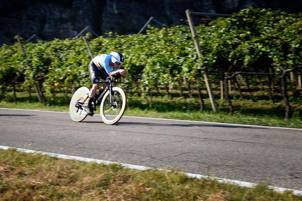 Euro de cyclisme: Remco Evenepoel vice-champion, battu par Sonny Colbrelli