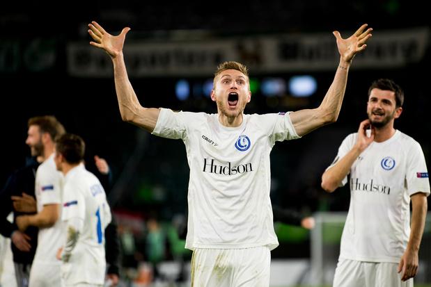 La Gantoise sort une prestation 3 étoiles et surclasse Wolfsburg