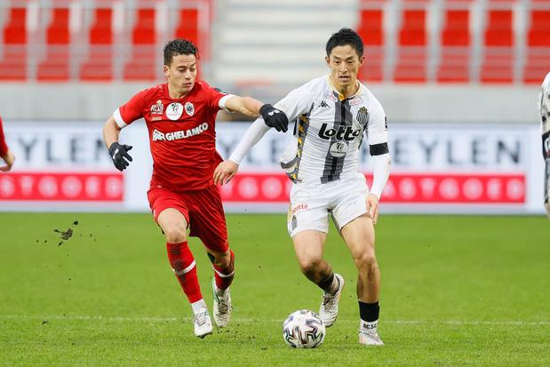 Cristian Benavente revient au Sporting Charleroi