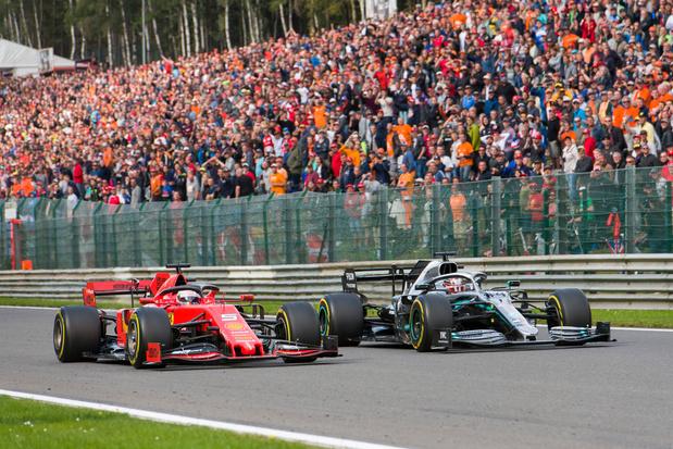 GP F1 van België kan doorgaan op 30 augustus zonder toeschouwers