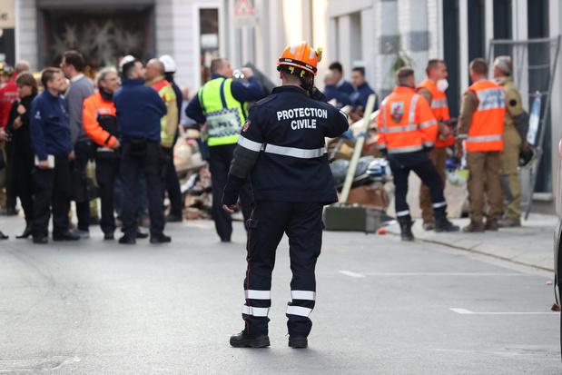 Effondrement d'un immeuble à Mons: le bilan final est connu