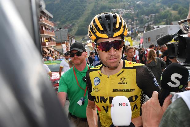 """Tour de France: Steven Kruijswijk a """"limité les dégâts"""" dans la première étape des Alpes"""
