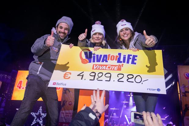 Lancement de Viva for Life à Tournai dans l'espoir d'un nouveau record