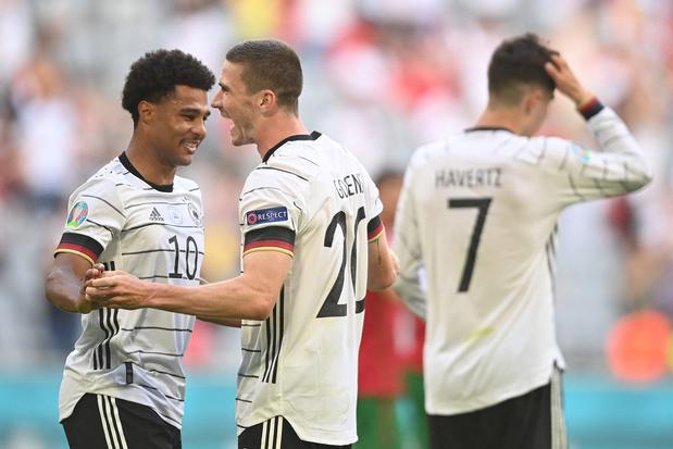 Euro 2020: l'Allemagne se réveille et dévore le Portugal