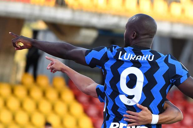 Doublé de Romelu Lukaku pour l'Inter Milan