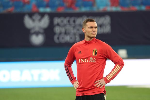 """Thomas Vermaelen de retour 16 mois plus tard: """"Je veux encore jouer l'Euro"""""""
