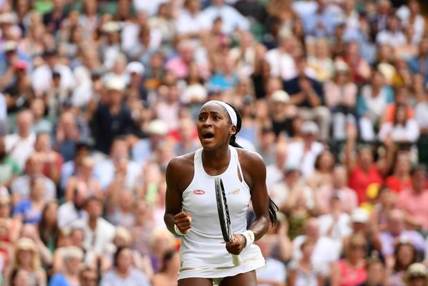 Wimbledon: la sensation Cori Gauff, 15 ans, voit son conte de fée se poursuivre en 8e de finale