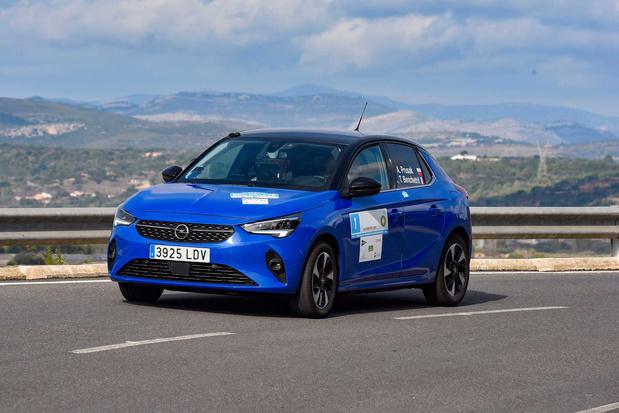 L'Opel Corsa-e, championne de la sobriété électrique