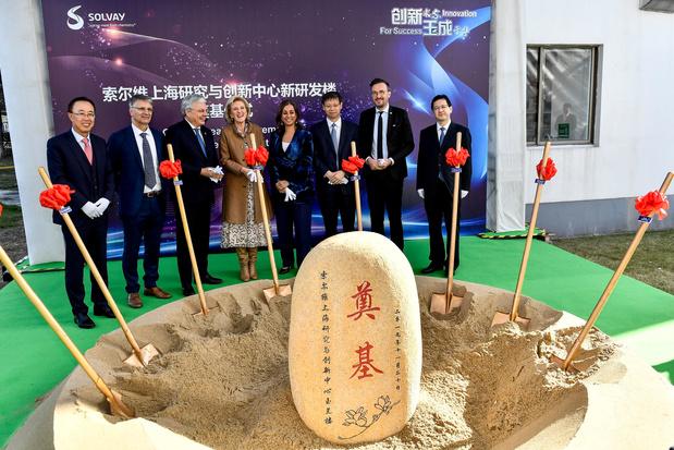Solvay s'installe toujours plus en Chine