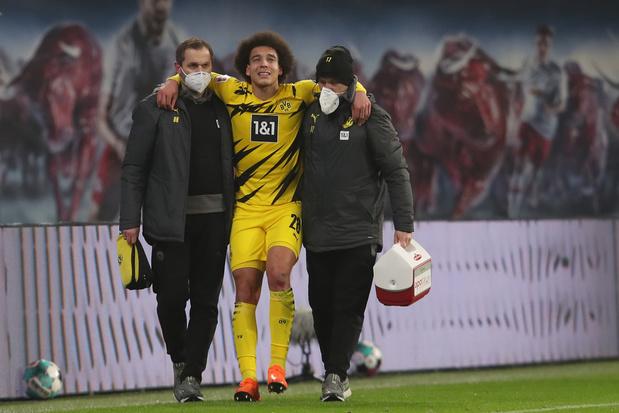 Axel Witsel sort blessé avec Dortmund