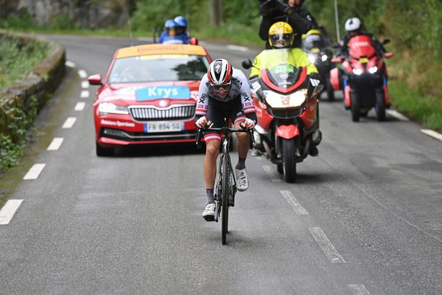 Tour de France: l'Autrichien Patrick Konrad s'impose en solitaire