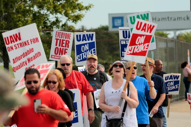 Le coût de la grève chez GM aux Etats-Unis atteint le milliard de dollars