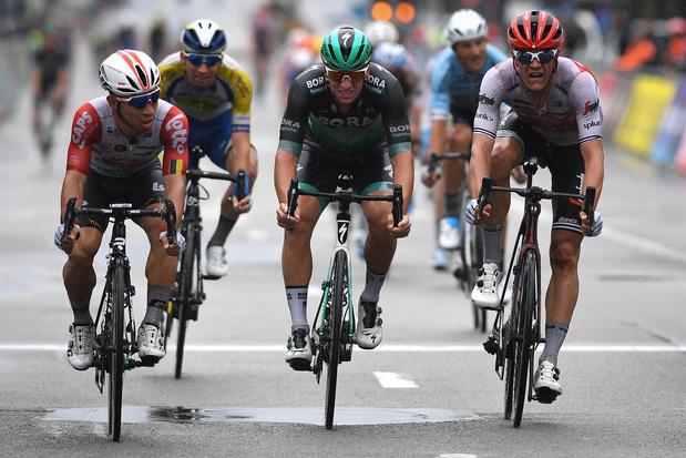 """Brussels Cycling Classic: plus rapide au sprint, Caleb Ewan avait """"ce petit plus pour l'emporter"""""""