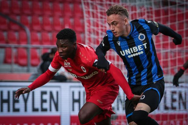 Antwerp en Club Brugge spelen zoutloos gelijk: 0-0