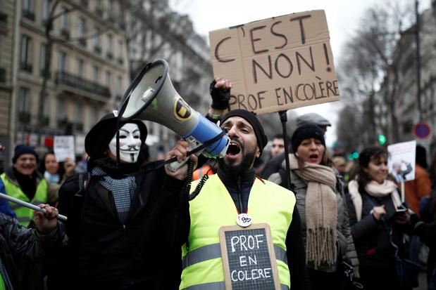 France: 26e jour de grève à la veille des voeux très attendus de Macron