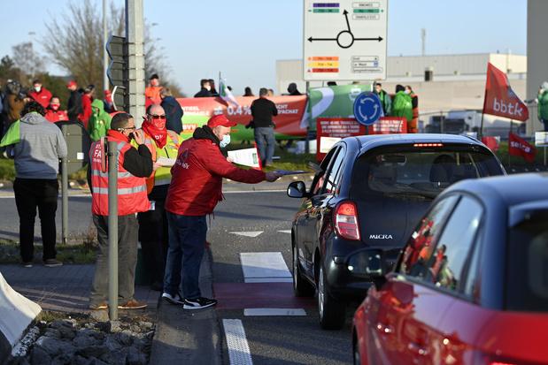 Action des douaniers à Brussels Airport: impact principalement sur les vols de fret